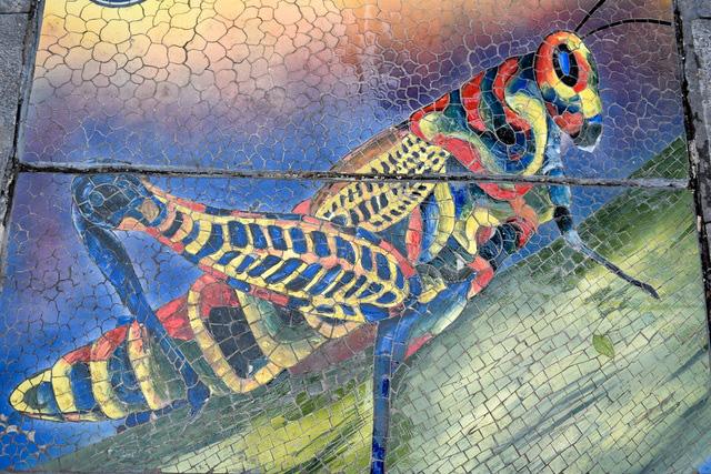 Hà Nội: Biến nắp cống, nắp hố ga thành tranh gốm rực rỡ sắc màu